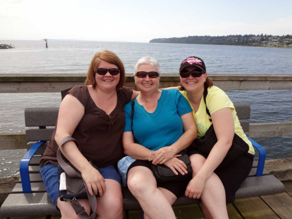 Patient Voices Network: Meet our Volunteers: Fran Banks and her daughters