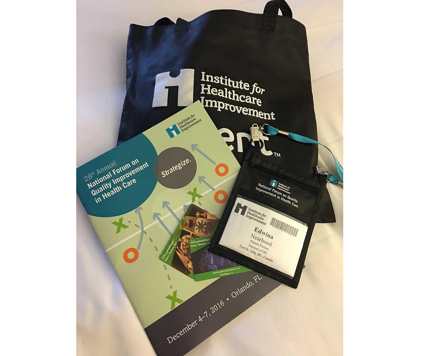 Edwina Nearhood at the IHI Conference in Orlando 2016