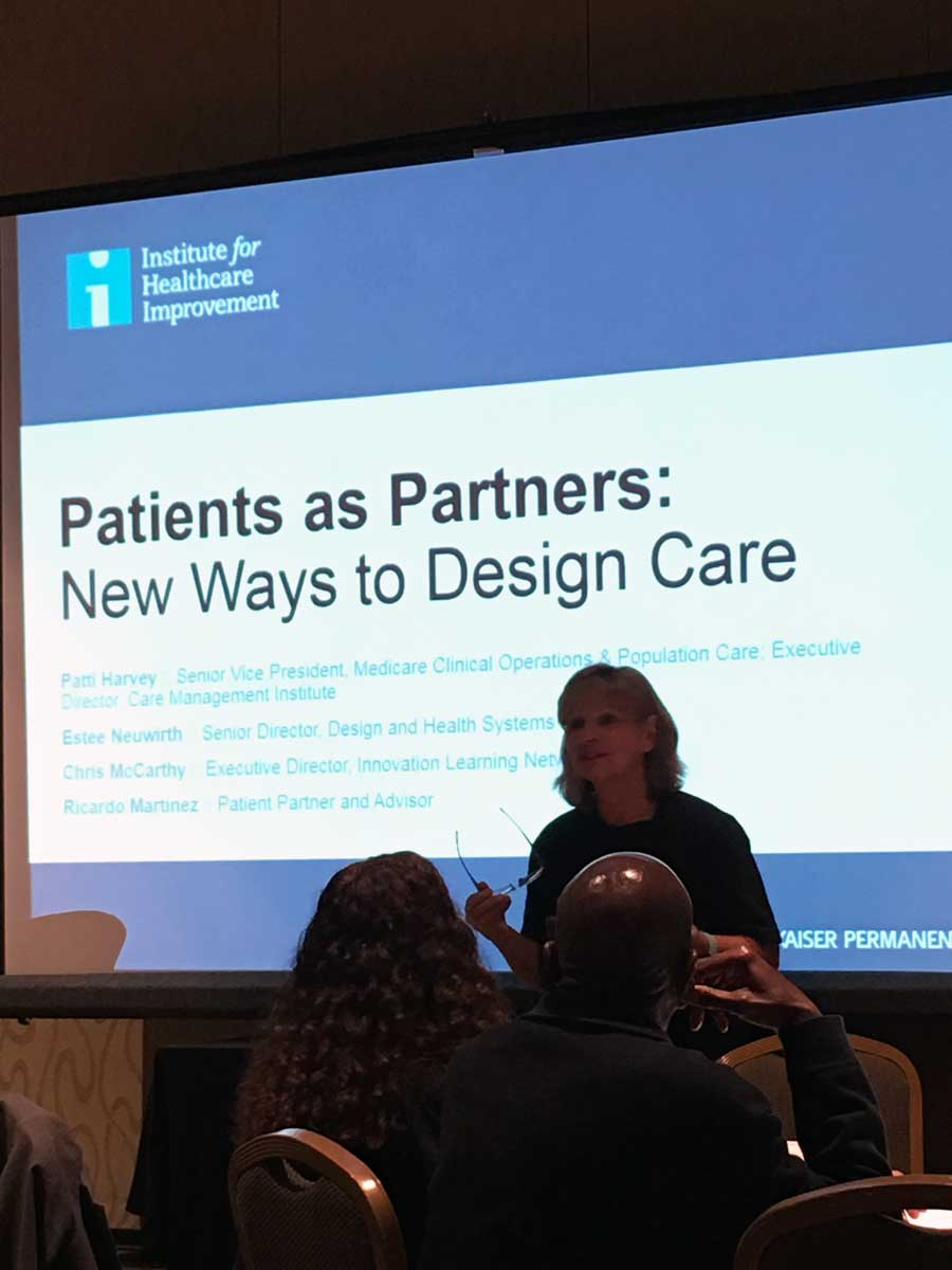 Patient Partners at the IHI Conference in Orlando 2016