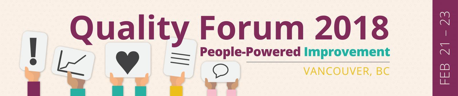 Quality Forum 2018