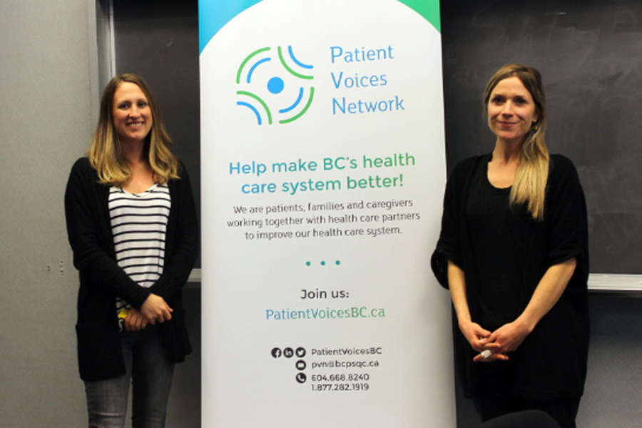 Nursing students partner with Patient Voices Network
