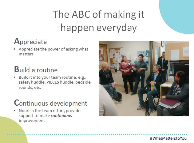 The ABC of making it happen