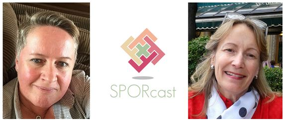 Bev Pomeroy and Lisa Ridgway.Creators of SPORcast podcast BC.2019