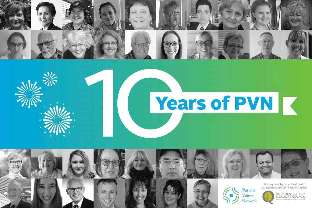 Celebrating a decade of the Patient Voices Network